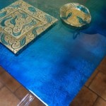 Artistic Dining Table Design Concept