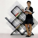 Creative Bookshelf Design Model