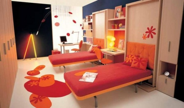 Popular Teenage Bedroom Design Decoration