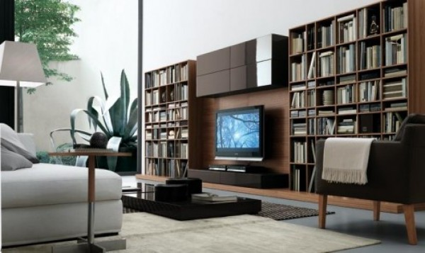 Entertainment Wall System Furniture