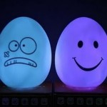 Attractive Egg Lamp Design Model with Unique Motives