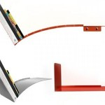 Artistic Bookshelf Design Photo
