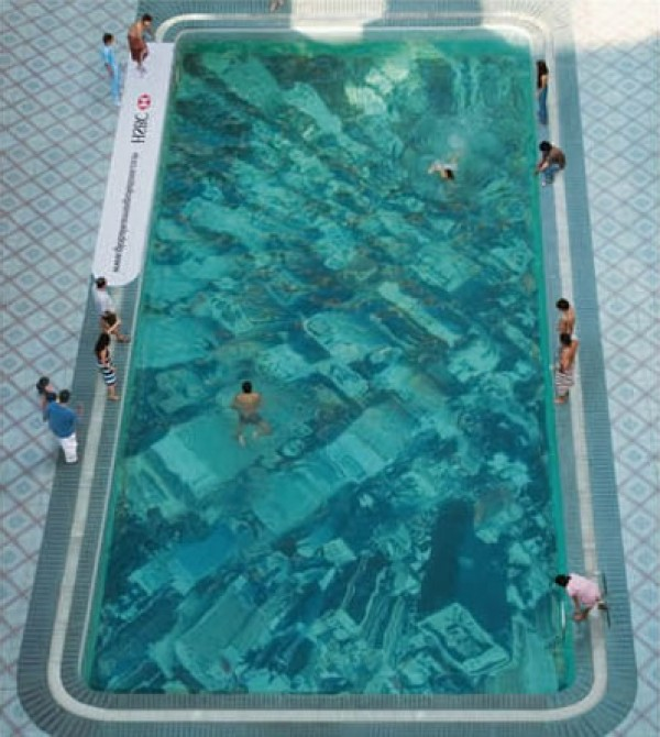 Modern Global Warming Swimming Pool Design Theme