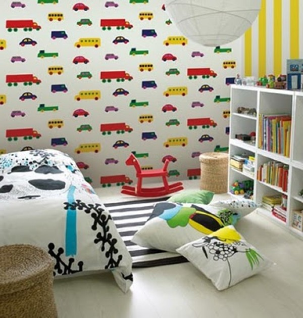 fantastic kids bedroom wallpaper home interior design ideas