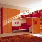 Beautiful Berloni Double Bedroom Design for kids