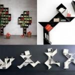 Modern Bookshelf Design Model