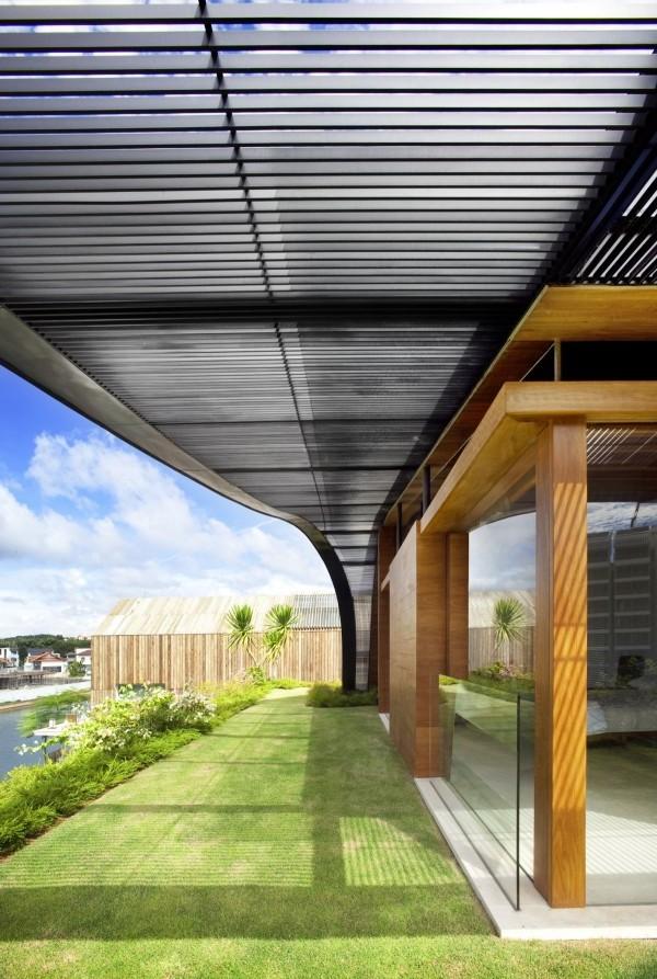 Futuristic House Design Concept In Singapore