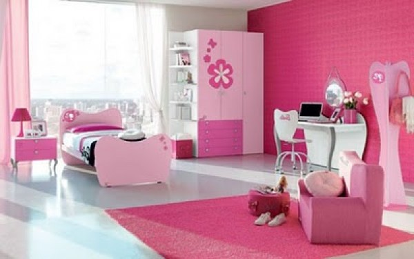 Futuristic Pink Barbie Bedroom Design Ideas Home Interior Design Ideas