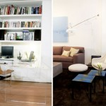 Luxurious Small Apartment with Riveting Furniture