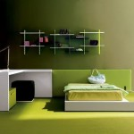 Awesome Green Bedroom Design