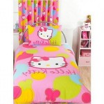 Funny Hello Kitty Themed Kids Bedroom Decor