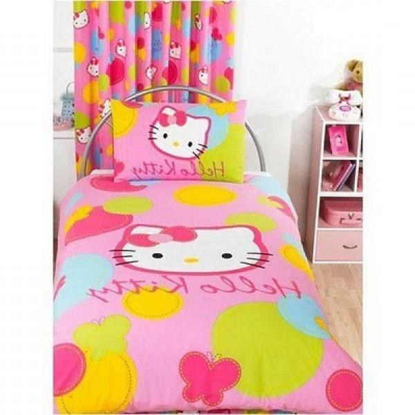Hello Kitty Home Decor: Hello Kitty Themed Kids Bedroom Decor