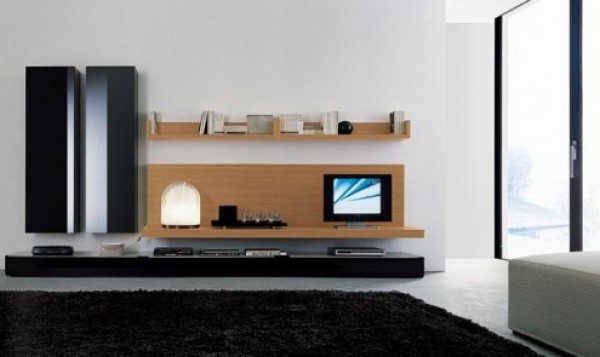 Home Entertainment Wall Unit