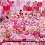 Beautiful Candy Pink Girls Room Design