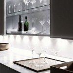 Fantastic Interior Design with Lighting System that Spreads on the Shelves