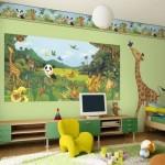 Amazing Jungle Themed Kids Bedroom Decor