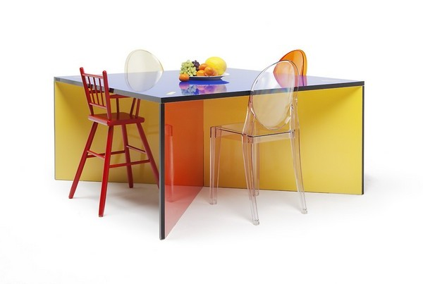 ... Kayiwa Nzela Colorful Dining Table Furniture ...