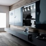 Minimalist Cabinet with the Concept of Open Space Living