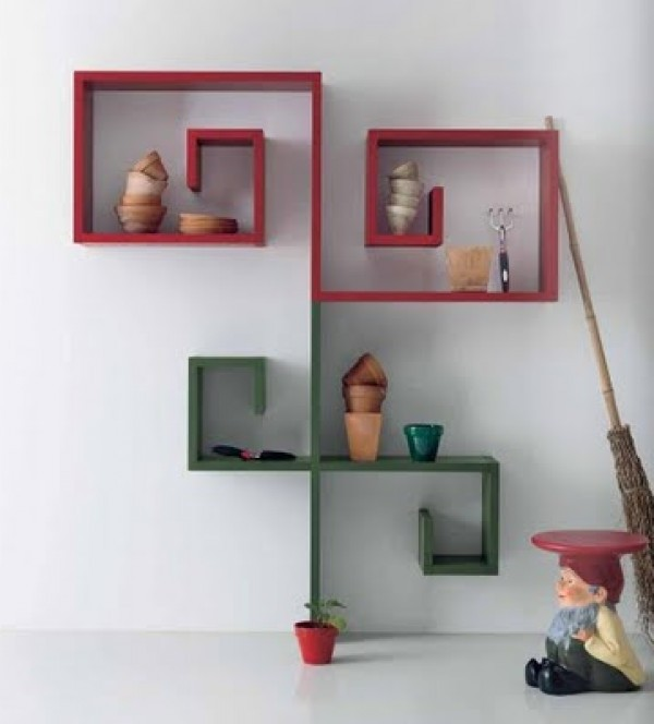 ... Modern Bookcase Design ...