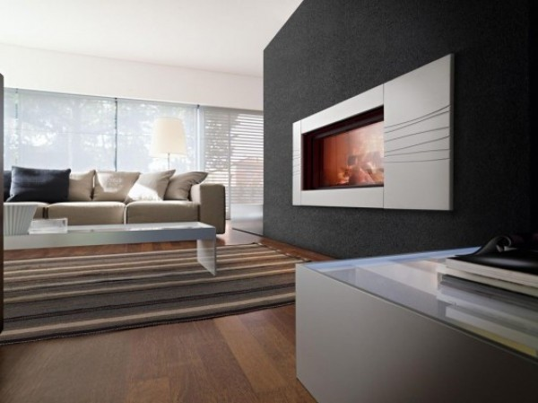 Luxury Concept of Composition Fireplace for Extreme Flexibility
