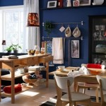 Artistic Dining Room and Aesthetic Kitchen Design Model by IKEA