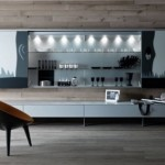 Luxury Modular System with Geometric Shapes