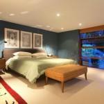 Elegant Bedroom Design in Modern Dwelling