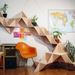 Futuristic Shelves Design Photo