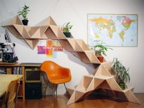 Modern shelves design photo home interior design ideas - House design new model shelves ...