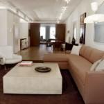 Futuristic Small Apartment with Latest Furniture