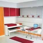 Contemporary Teenager Double Bedroom Design Ideas