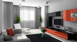 Attractive Window Treatment Design with Retro Style