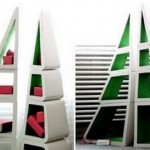 Triangle Shelves Design Type