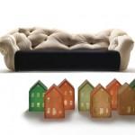 Interesting Nubola Sofa Design Concept