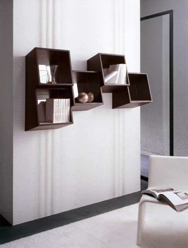 Picchio Square Wall Mounted Shelf Design Home Interior