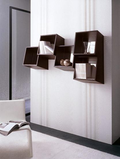 picchio square wall mounted shelf design home interior. Black Bedroom Furniture Sets. Home Design Ideas