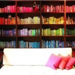Fantastic Rainbow Bookcase Type