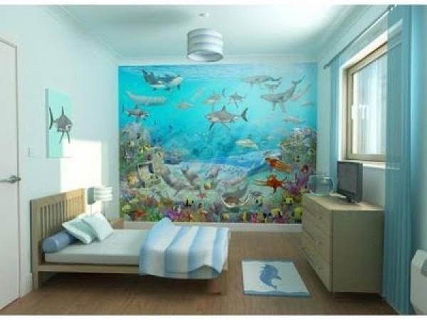 Sea adventure bedroom scene home interior design ideas for Scene room ideas