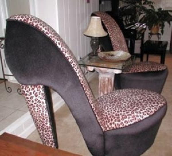 Shoes Chair Design Model