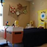 Awesome Sponge Bob Themed Kids Bedroom Decor