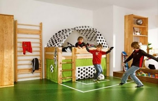 Boys basketball bedroom image search results - Toddler boy sports room ideas ...