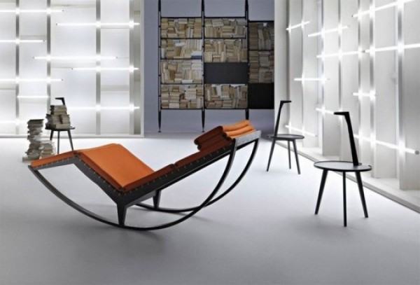 Awesome ... Stylish Italian Rocking Chair Canapo By Cassina ... Awesome Ideas