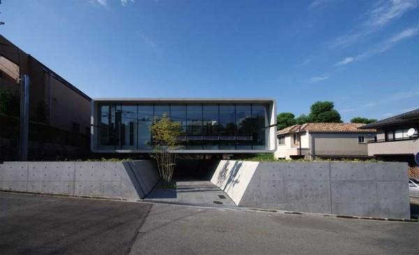 Modern Television House Noriyoshi Morimura