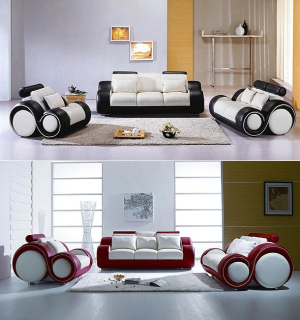 Modern Sofa Chair Designs: Ultra Modern And Futuristic Circular Sofa Design Concept