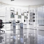 Super Modern Office Shelf Design Photo