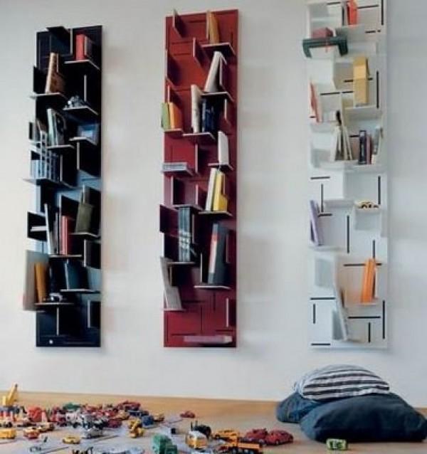 Unique Bookshelf Design Model Home Interior Ideas