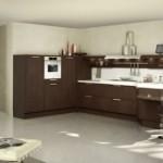 New Wenge Oak White Gloos Forma Kitchen