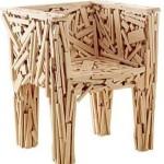 New Wooden Chair Design Model