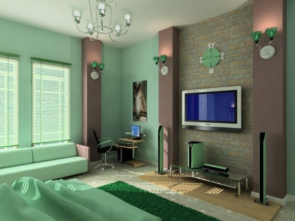 Artistic Main Bedroom Design Furniture