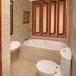 Innovative Residence Bathroom Decorating Pictures